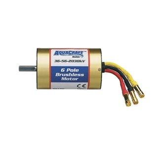 Aquacraft - Brushless 6-Pole Marine Motor 36-56-2030 UL1