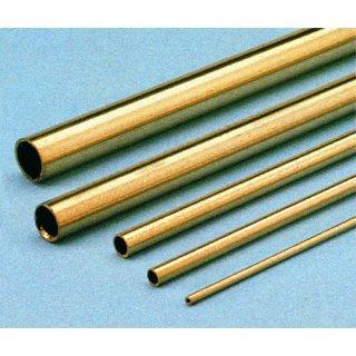 Messing Rohr hart 6,0x5,2x1000mm