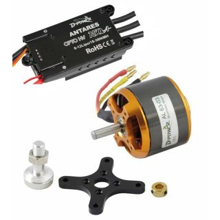 D-Power Brushless SET AL63-03 & 150A HV Opto Antares Regler