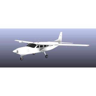 Modellexclusiv Cessna 208 Caravan Holz / GFK M 1:4