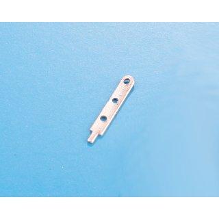 Relingstütze flach 12 mm 3 Dz. (20)