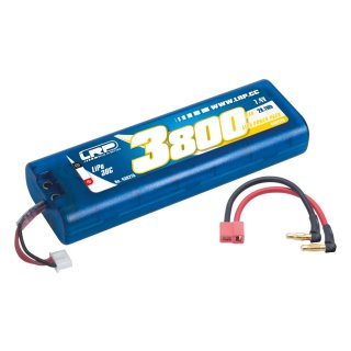 LiPo Power Pack 3800 - 7.4V - 30C - Multi Plug Hardcase
