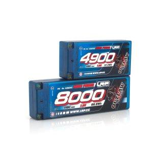 LRP 8000 - Stickpack P5 - 110C/55C - 7.6V LiPo - 1/10 Outlaw Car Line Hardcase