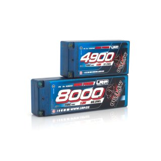 LRP 4900 - Shorty P5 - 110C/55C - 7.6V LiPo - 1/10 Outlaw Car Line Hardcase