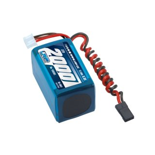 LRP LiFePo 2000 RX-Pack 2/3A Hump - RX-only - 6.6V