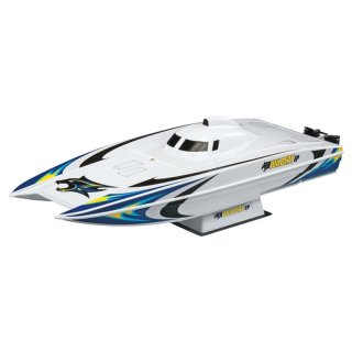 Aquacraft - Modellsatz - Rennboot Wildcat EP Catamaran - RTR