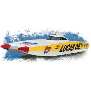 Aquacraft - Modellsatz - Rennboot  Lucas Oil Catamaran - RTR