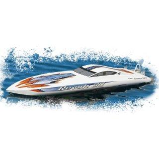 Aquacraft - Modellsatz - Rennboot Revolt 30 FE Mono - Weiss - RTR