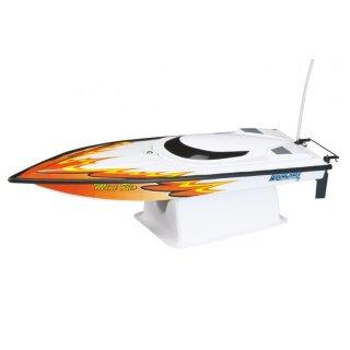 Aquacraft - Modellsatz - Rennboot Mini-Rio - Oranje - RTR