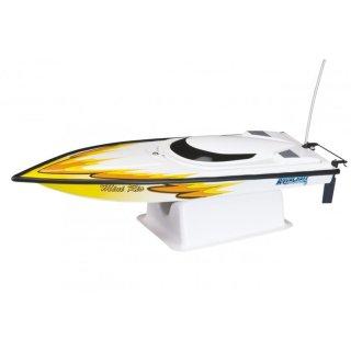Aquacraft - Modellsatz - Rennboot Mini-Rio - Gelb - RTR