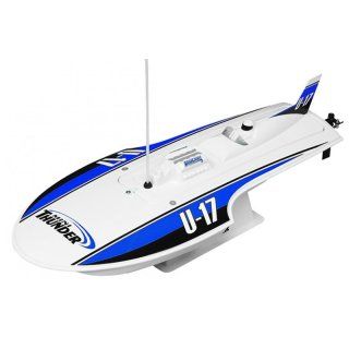 Aquacraft - Modellsatz - Rennboot Mini-Thunder - Blau - RTR