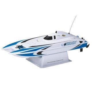 Aquacraft - Modellsatz - Rennboot Mini-Wildcat - Blau - RTR