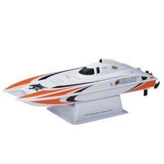 Aquacraft - Modellsatz - Rennboot Mini-Wildcat - Oranje - RTR