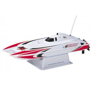 Aquacraft - Modellsatz - Rennboot Mini-Wildcat - Rot - RTR