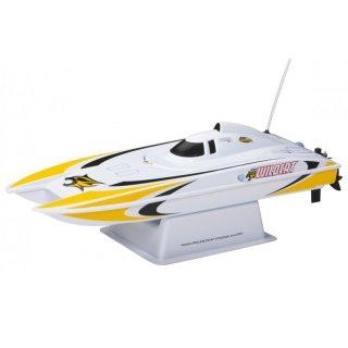 Aquacraft - Modellsatz - Rennboot Mini-Wildcat - Gelb - RTR