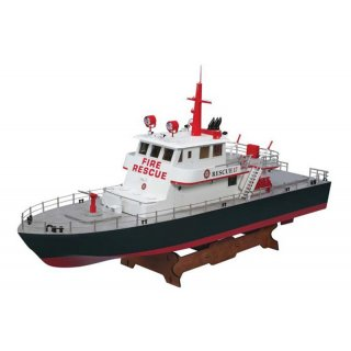 Aquacraft - Modellsatz - Feuerloschboot Rescue 17 - RTR