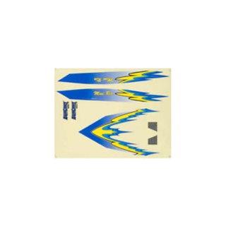 Aquacraft - Decal Sheet Blue  Mini Rio