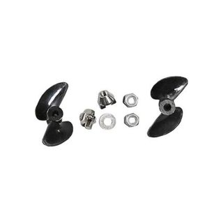 Aquacraft - Propeller Set with Nut (2)  Reef Racer